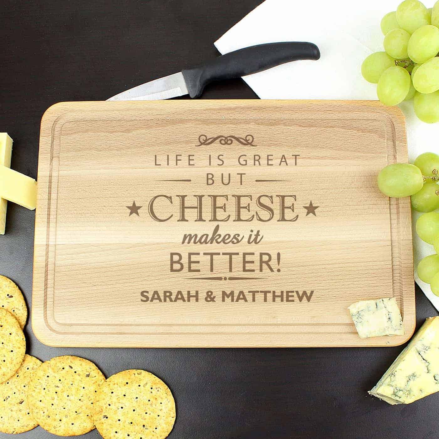 Wooden Rectangle Cheeseboard