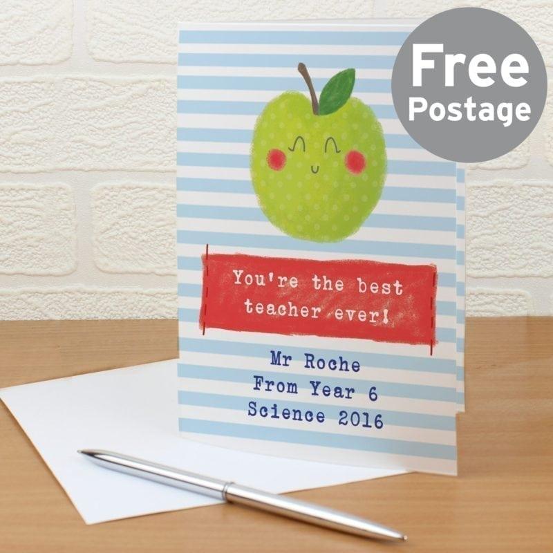 Personalised Happy Apple Card