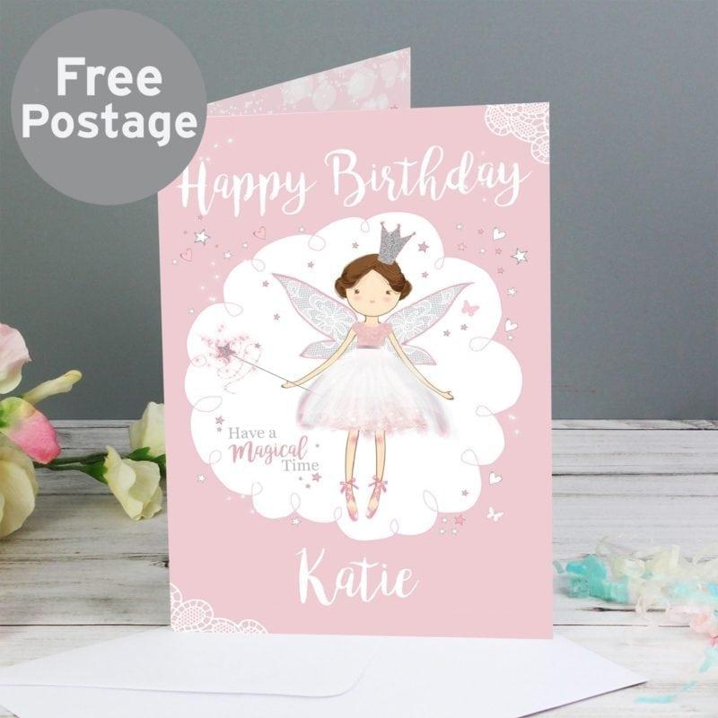 Personalised Fairy Princess Card