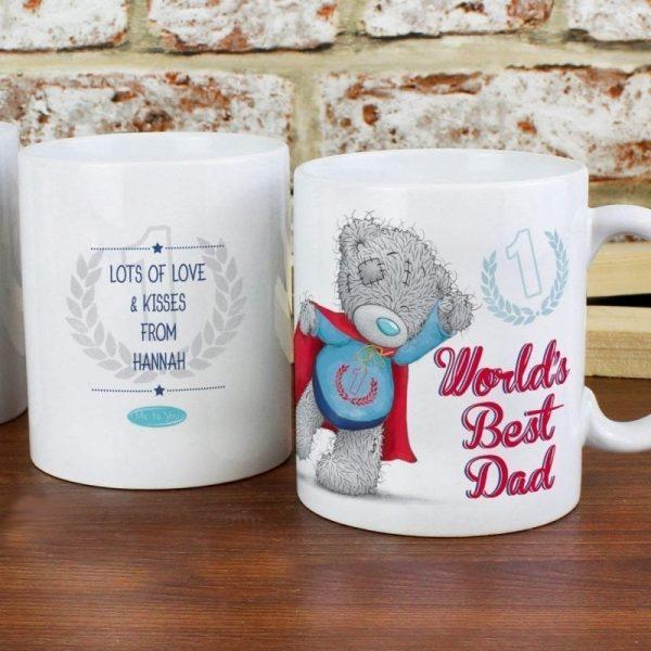 Personalised Me To You Super Dad Mug