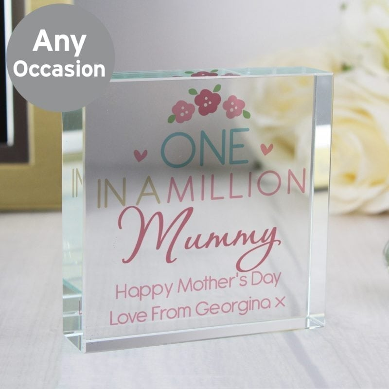 Personalised One in a Million Large Crystal Token