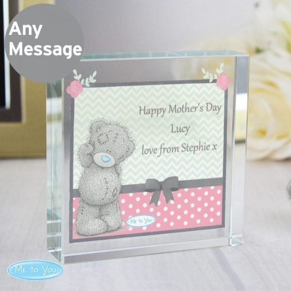 Personalised Me To You Pastel Belle Large Crystal Token