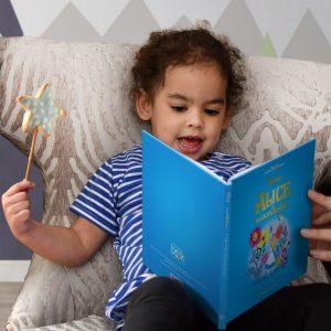 Personalised Disney Alice In Wonderland StoryBook