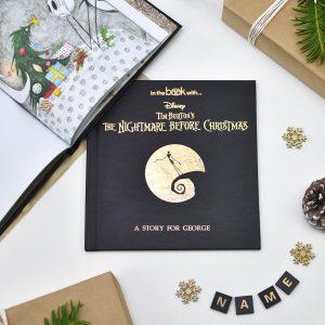 Personalised Nightmare before Christmas Story Book