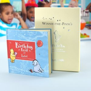Personalised Winnie-the-Pooh Birthday Book