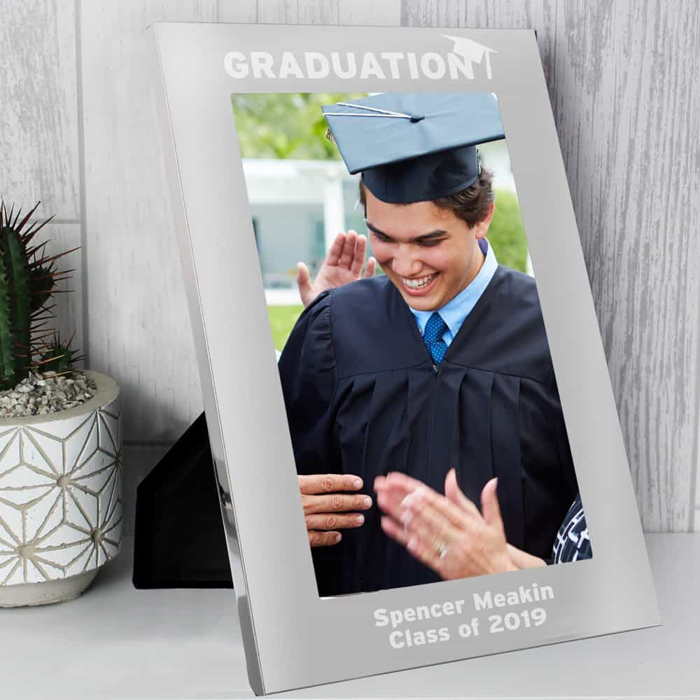 Graduation 7x5 Silver Photo Frame