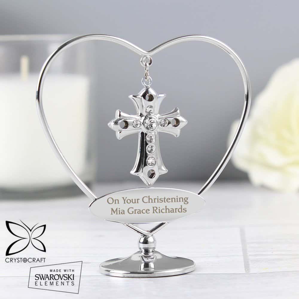 Crystocraft Cross Ornament