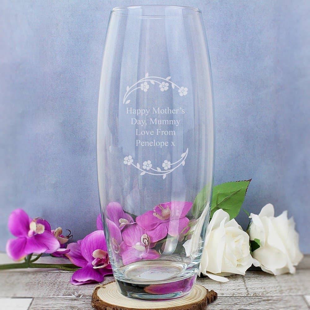 Floral Bullet Vase