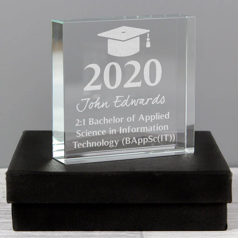 Graduation Large Crystal Token