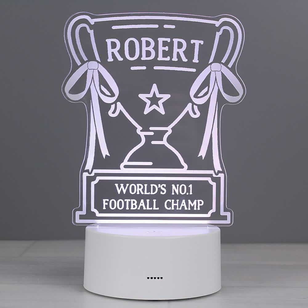 Trophy LED Colour Changing Night Light