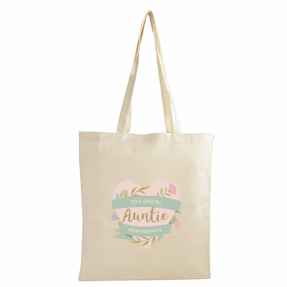 Floral Mother's Day Cotton Bag