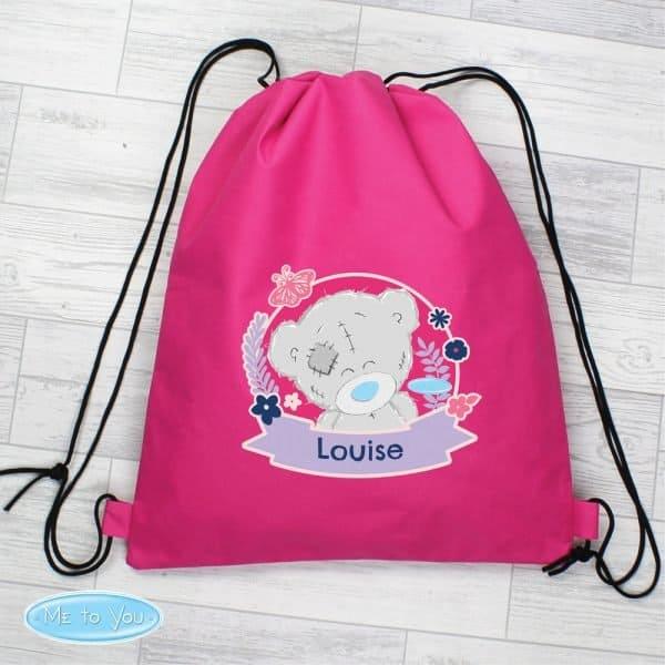 Me To You Pink Swim & Kit Bag