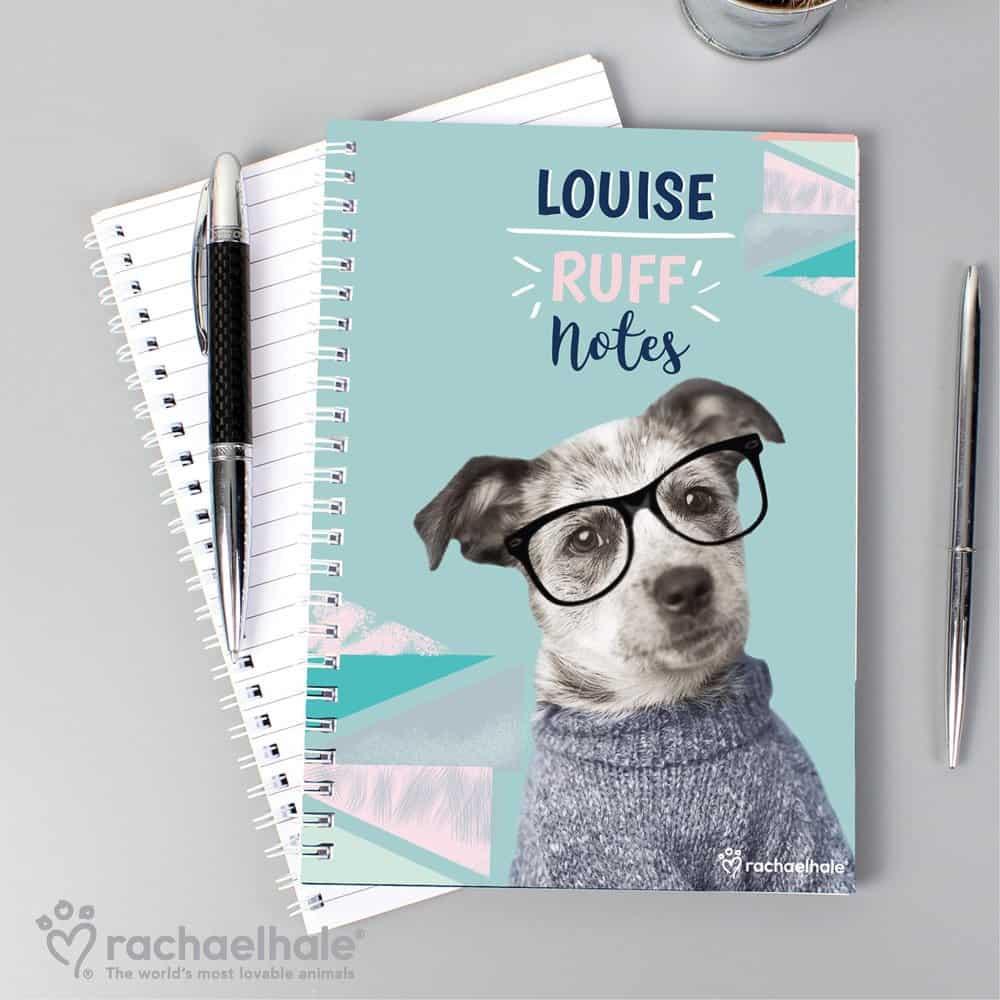 Rachael Hale 'Ruff Notes' Dog A5 Notebook