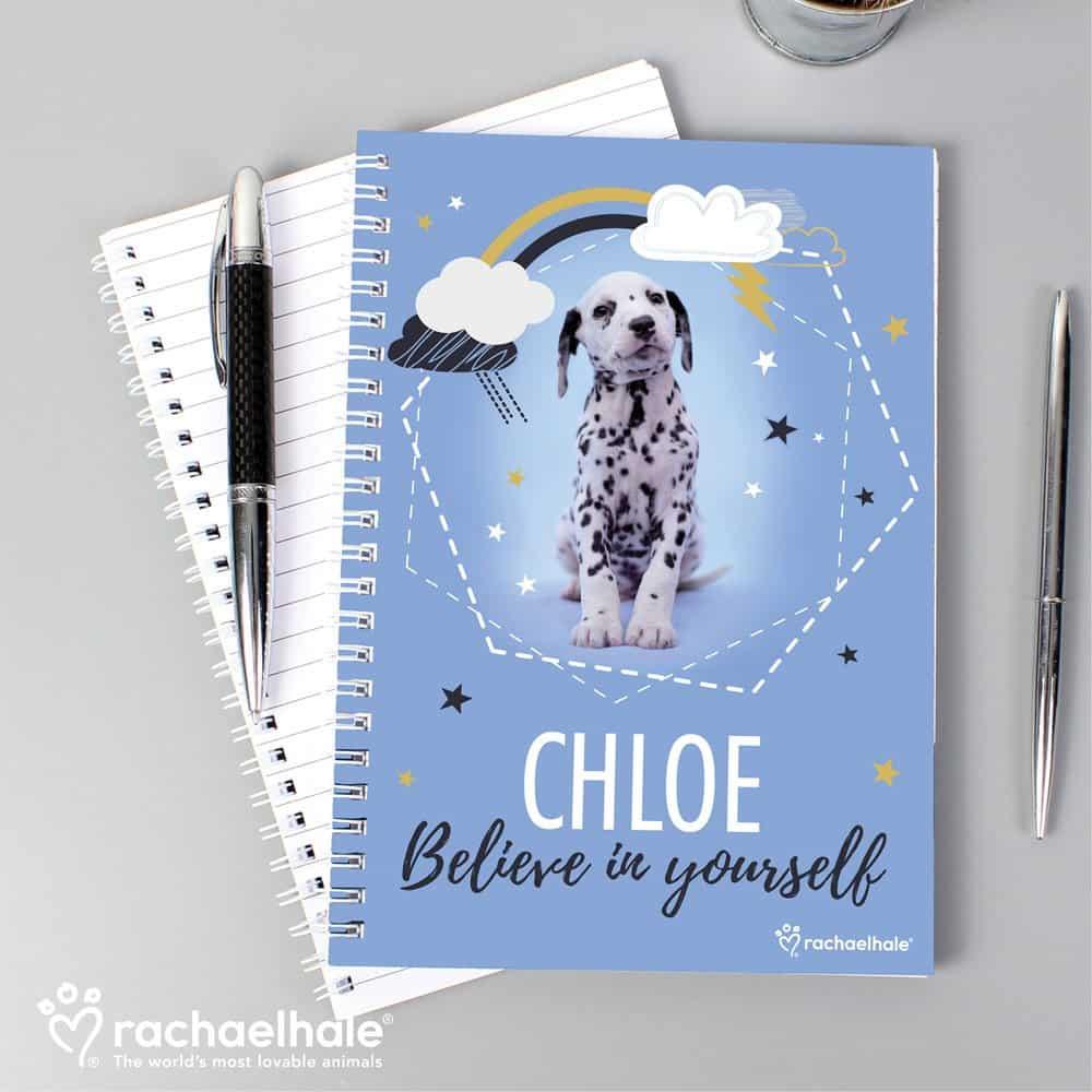 Rachael Hale Dalmatian A5 Notebook