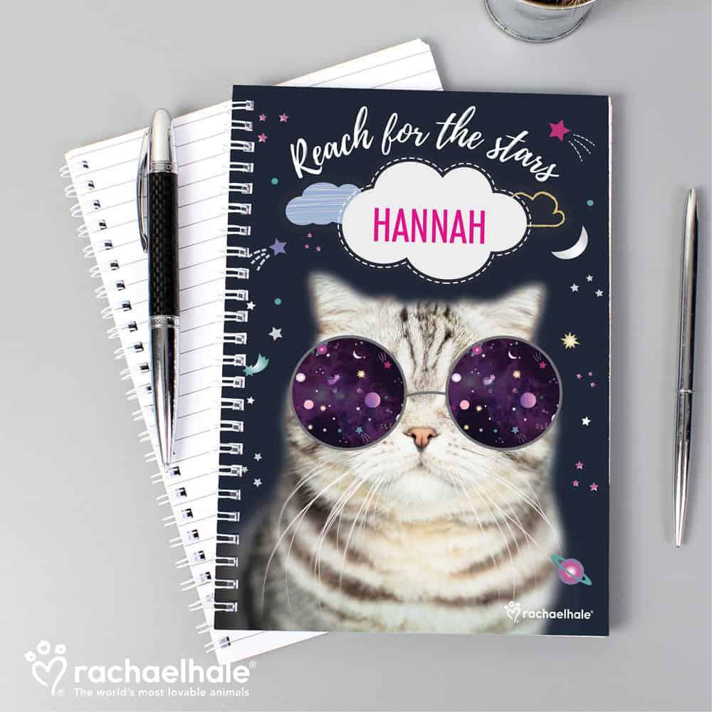 Rachael Hale Space Cat A5 Notebook