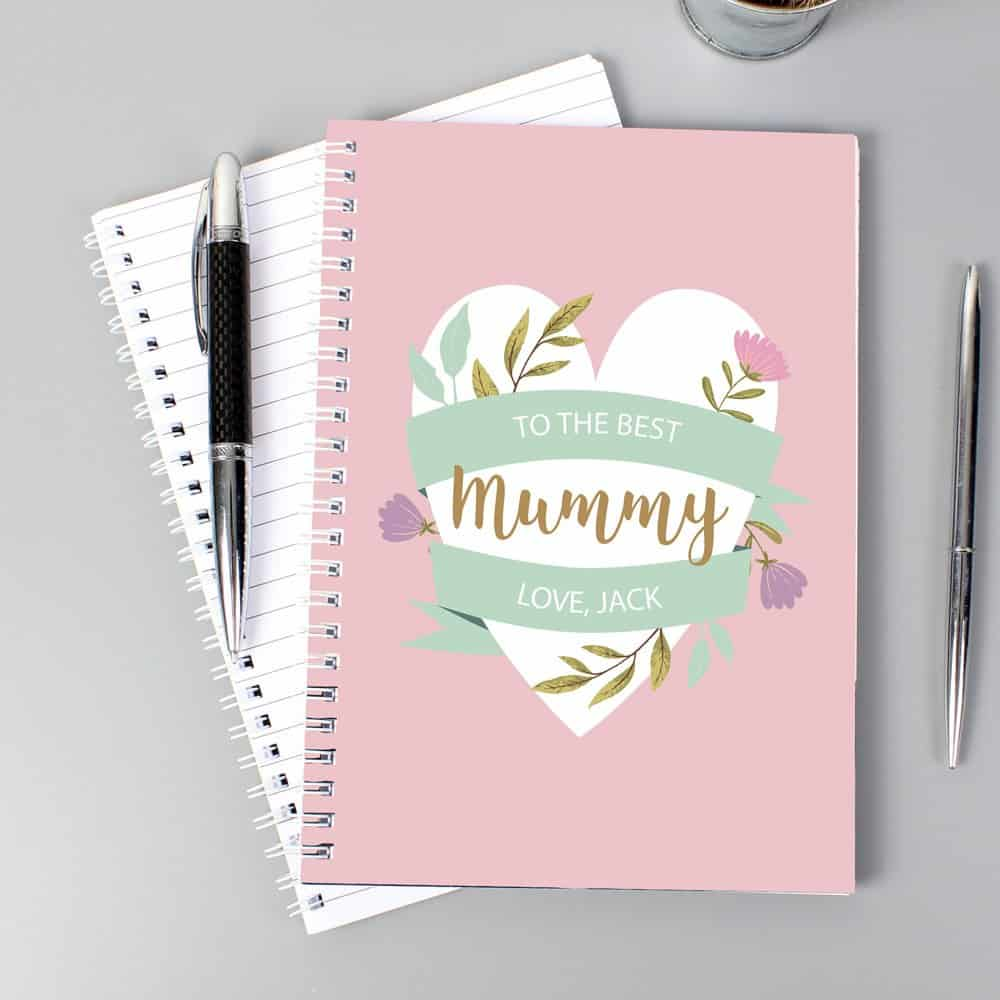 Floral Mother's Day A5 Notebook