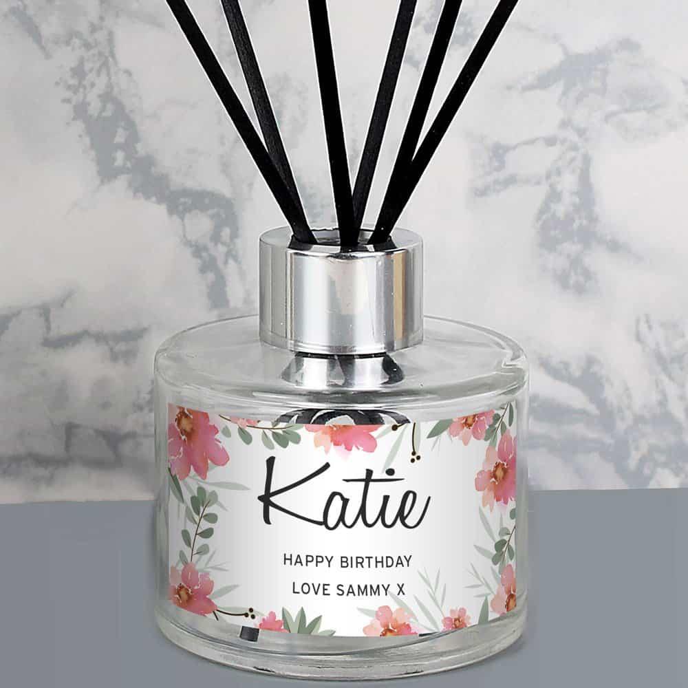 Floral Sentimental Reed Diffuser
