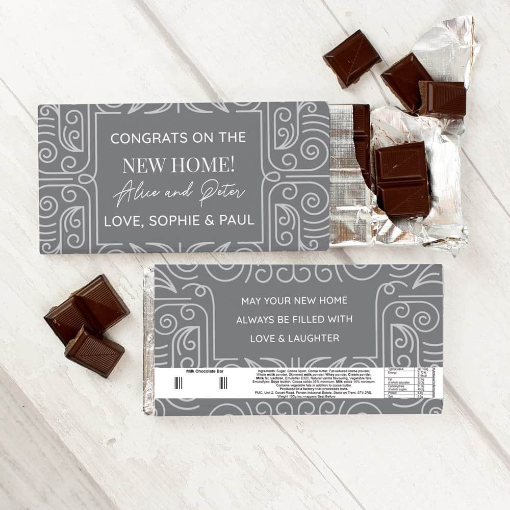 Congratulations Milk Chocolate Bar