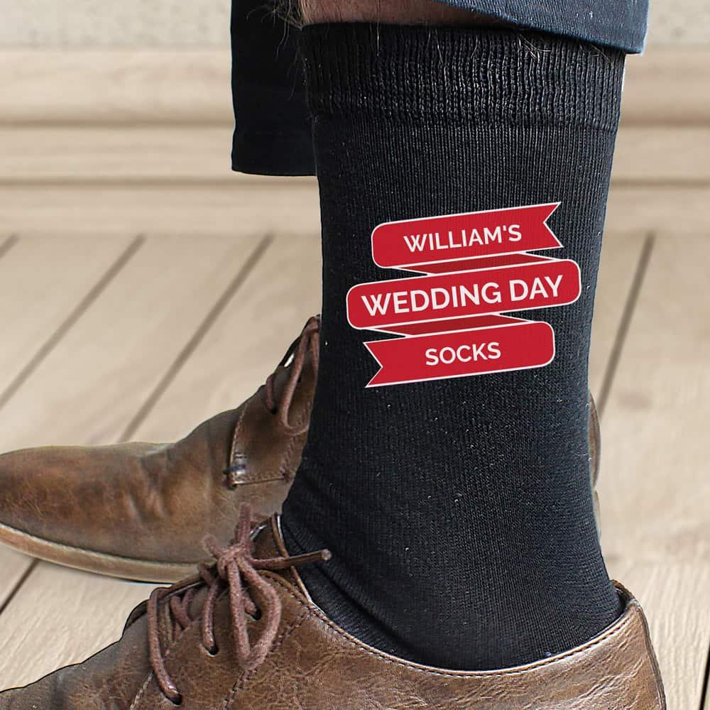 Banner Design Men's Socks