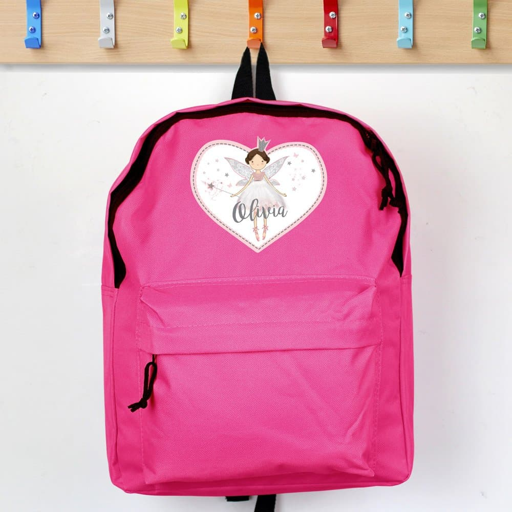 Fairy Princess Pink Backpack