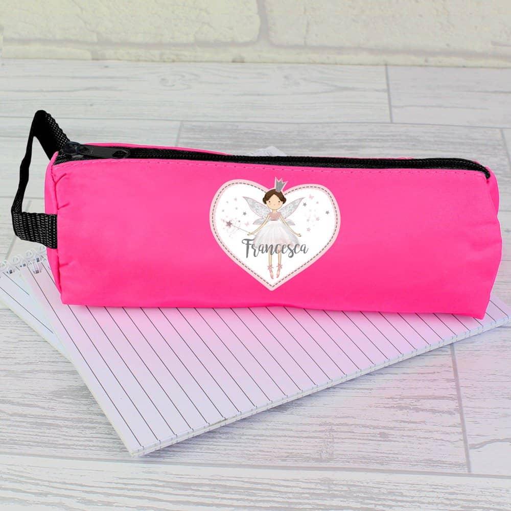 Fairy Princess Pink Pencil Case