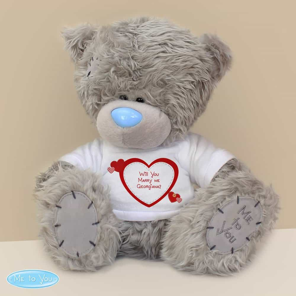 Me to You Bear with Hearts T-Shirt