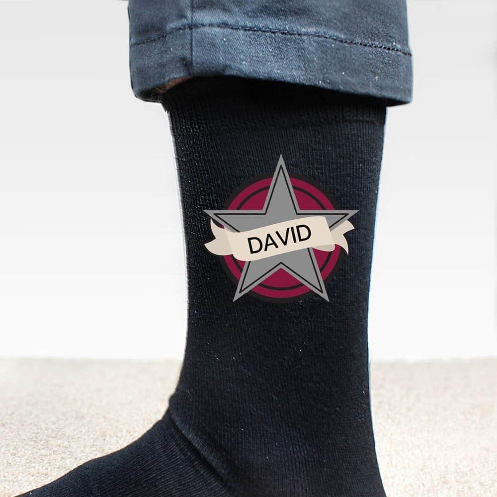 Star Men's Socks