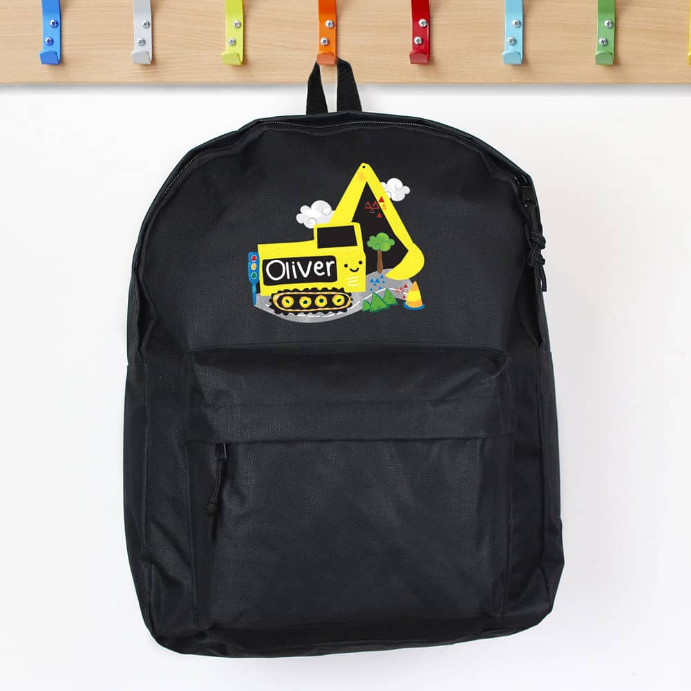 Digger Black Backpack