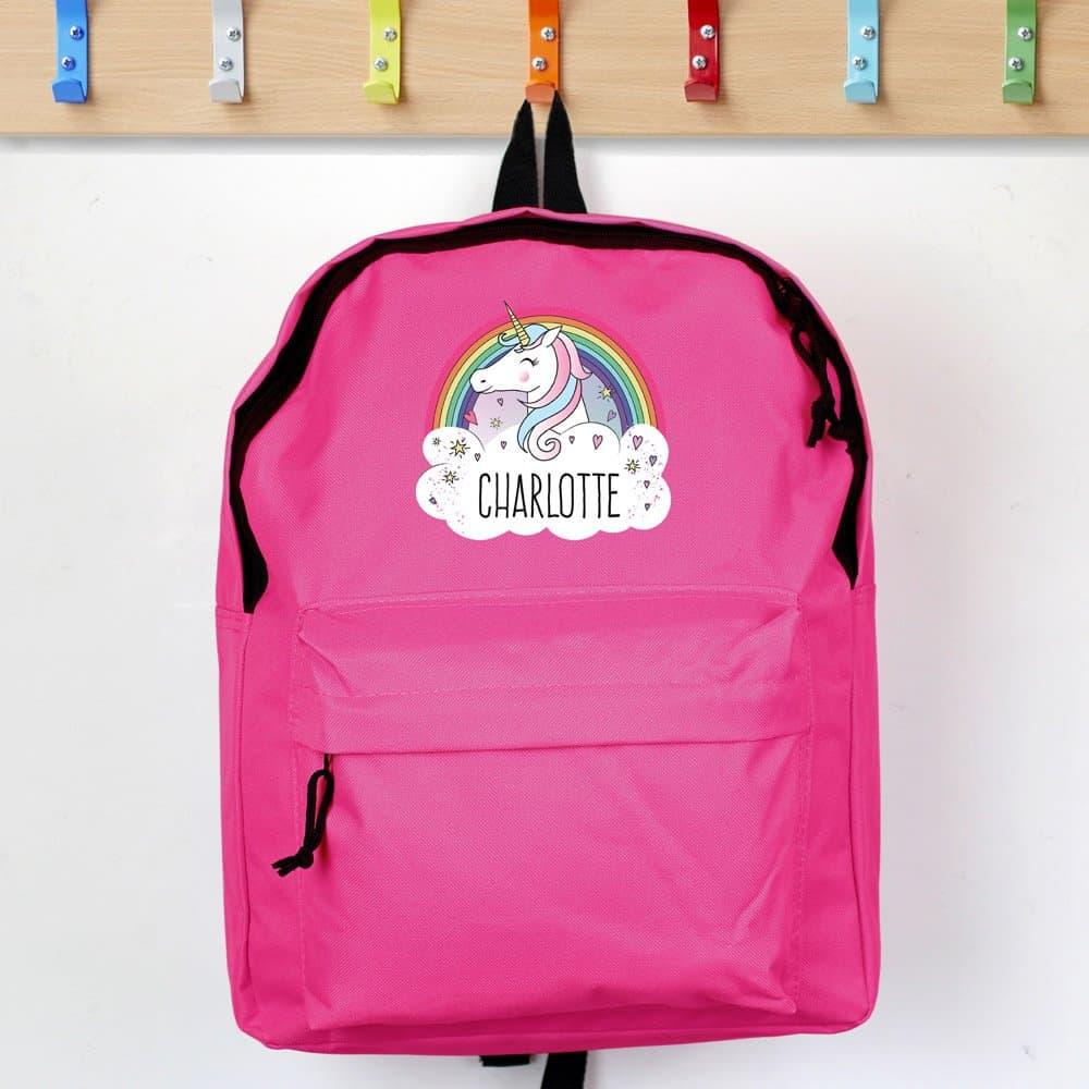 Unicorn Pink Backpack