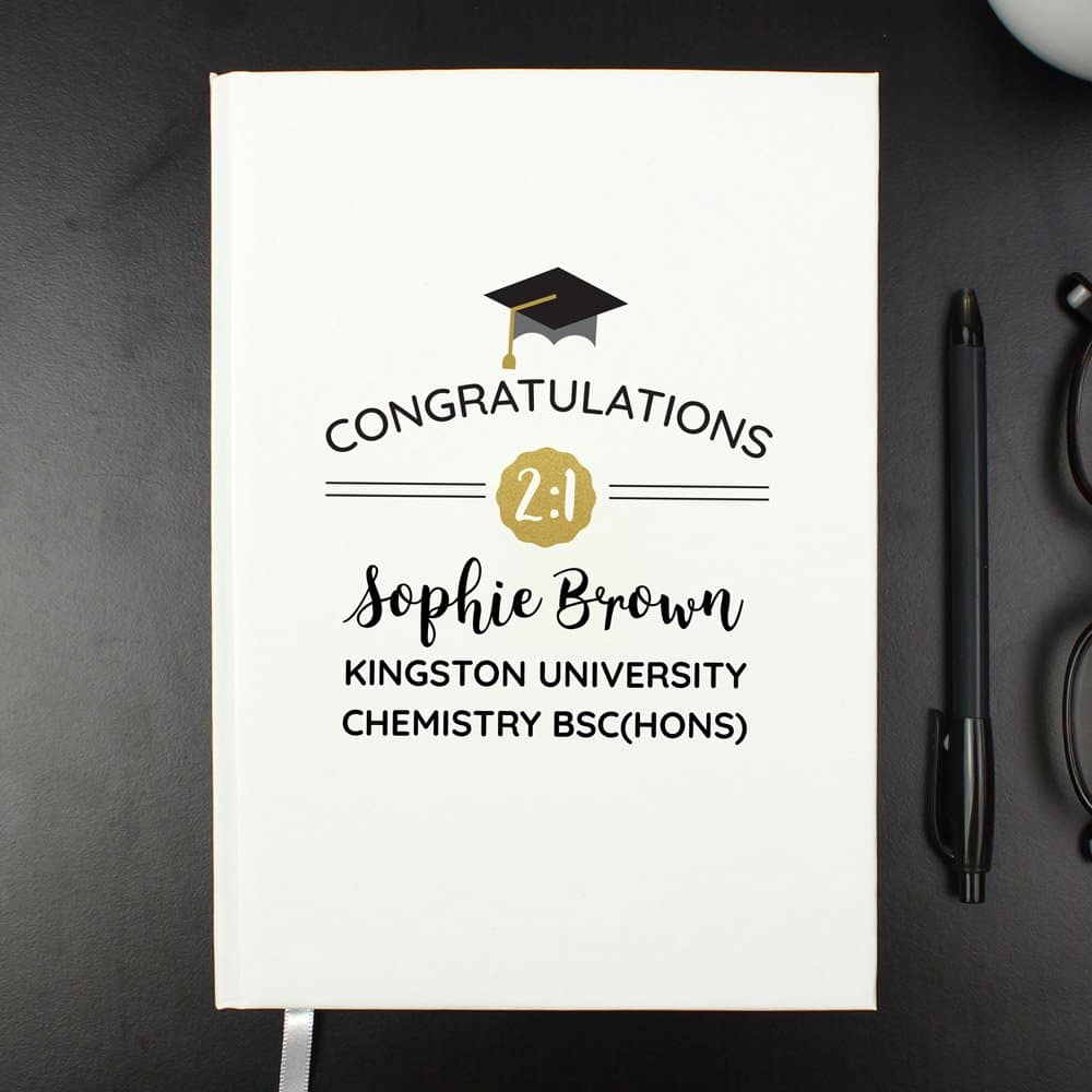 Graduation Hardback A5 Notebook