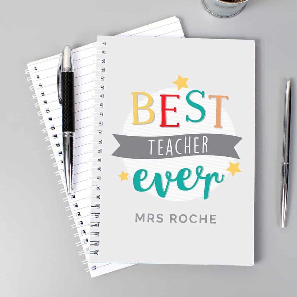 Best Teacher Ever' A5 Notebook