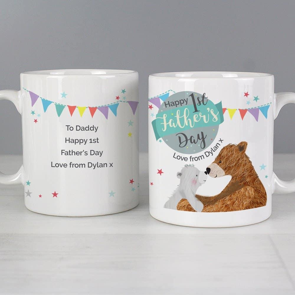 1st Father's Day Daddy Bear Mug