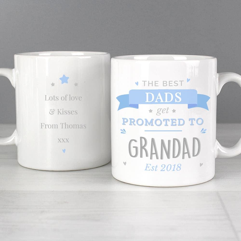 Blue Promoted to Mug