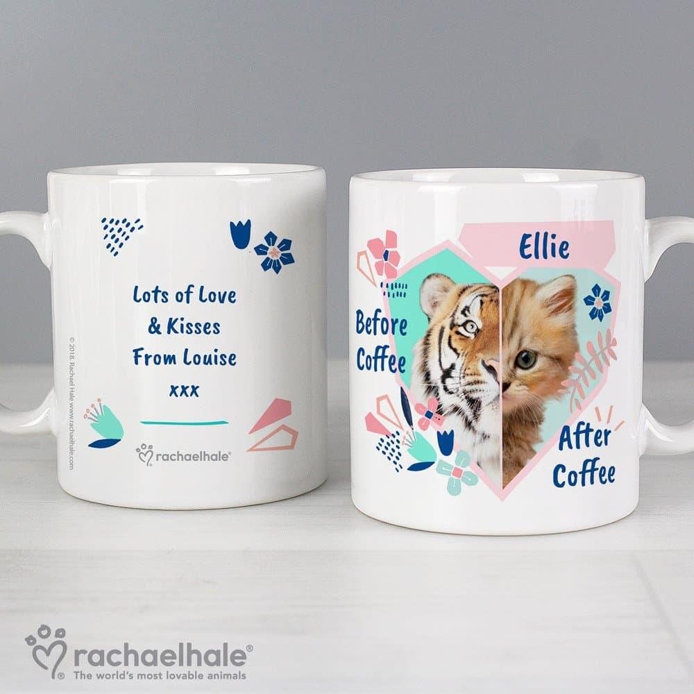 Rachael Hale 'Before Coffee/After Coffee' Cat Mug