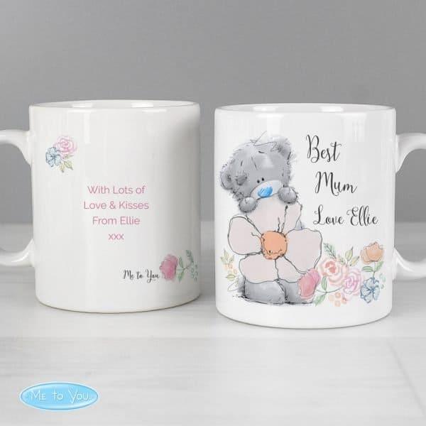 Me to You Floral Mug