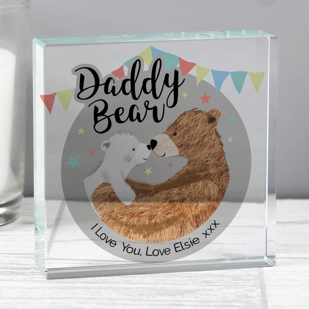 Daddy Bear Crystal Token