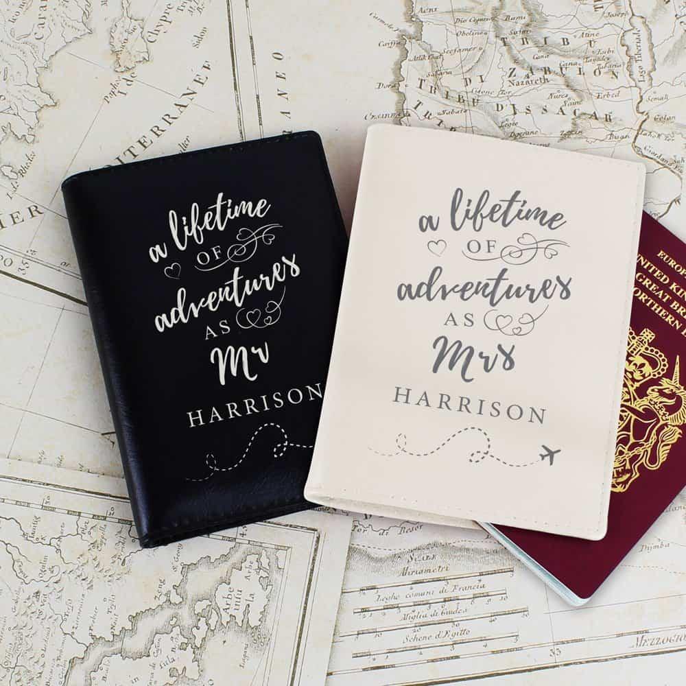 Lifetime of Adventures Couples Passports