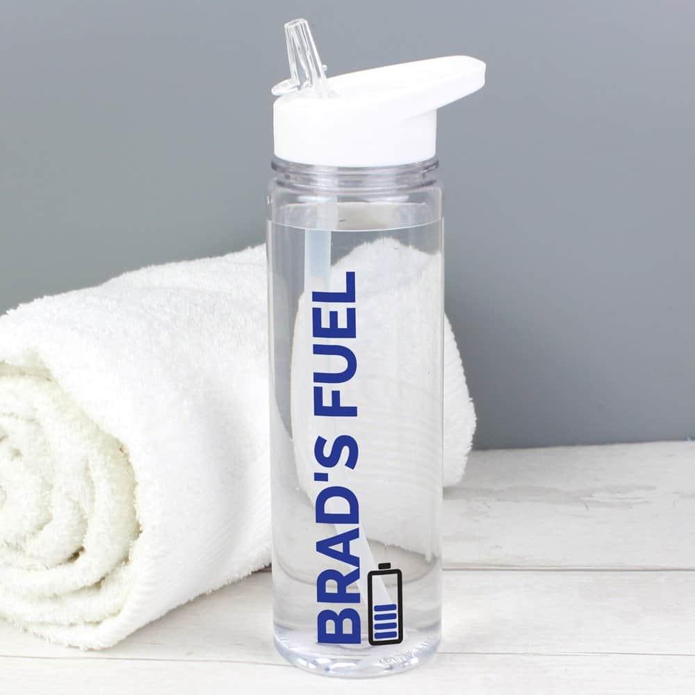 Blue Fuel Island Water Bottle