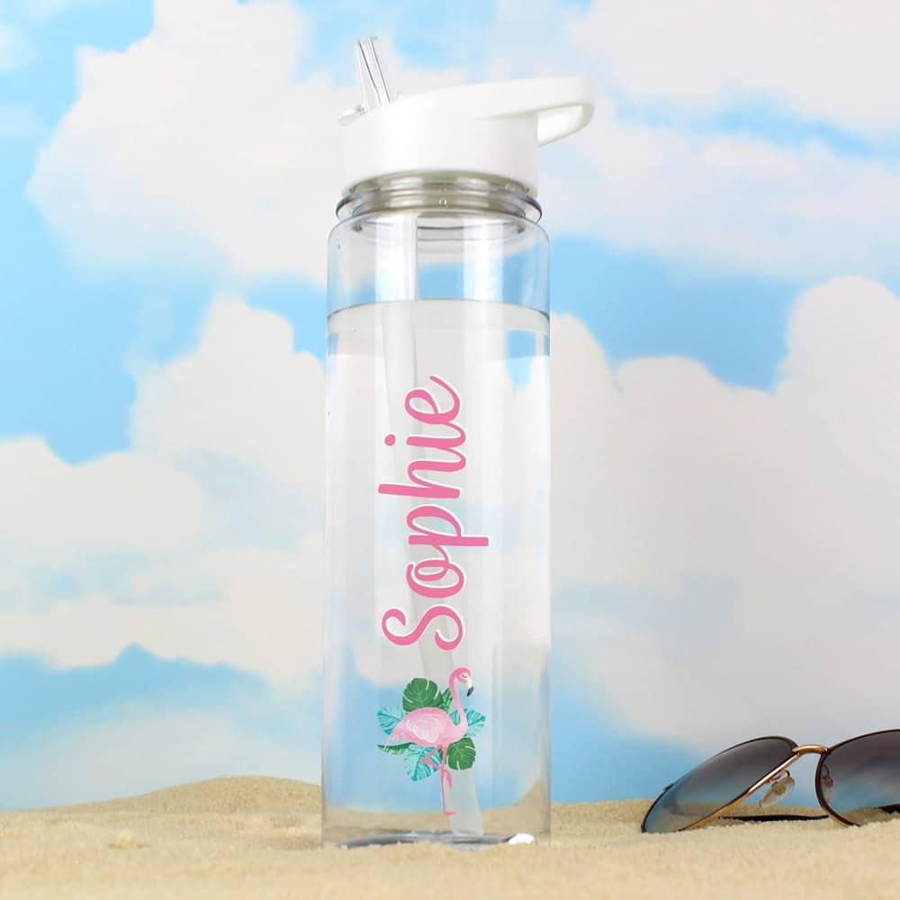 Flamingo Island Water Bottle