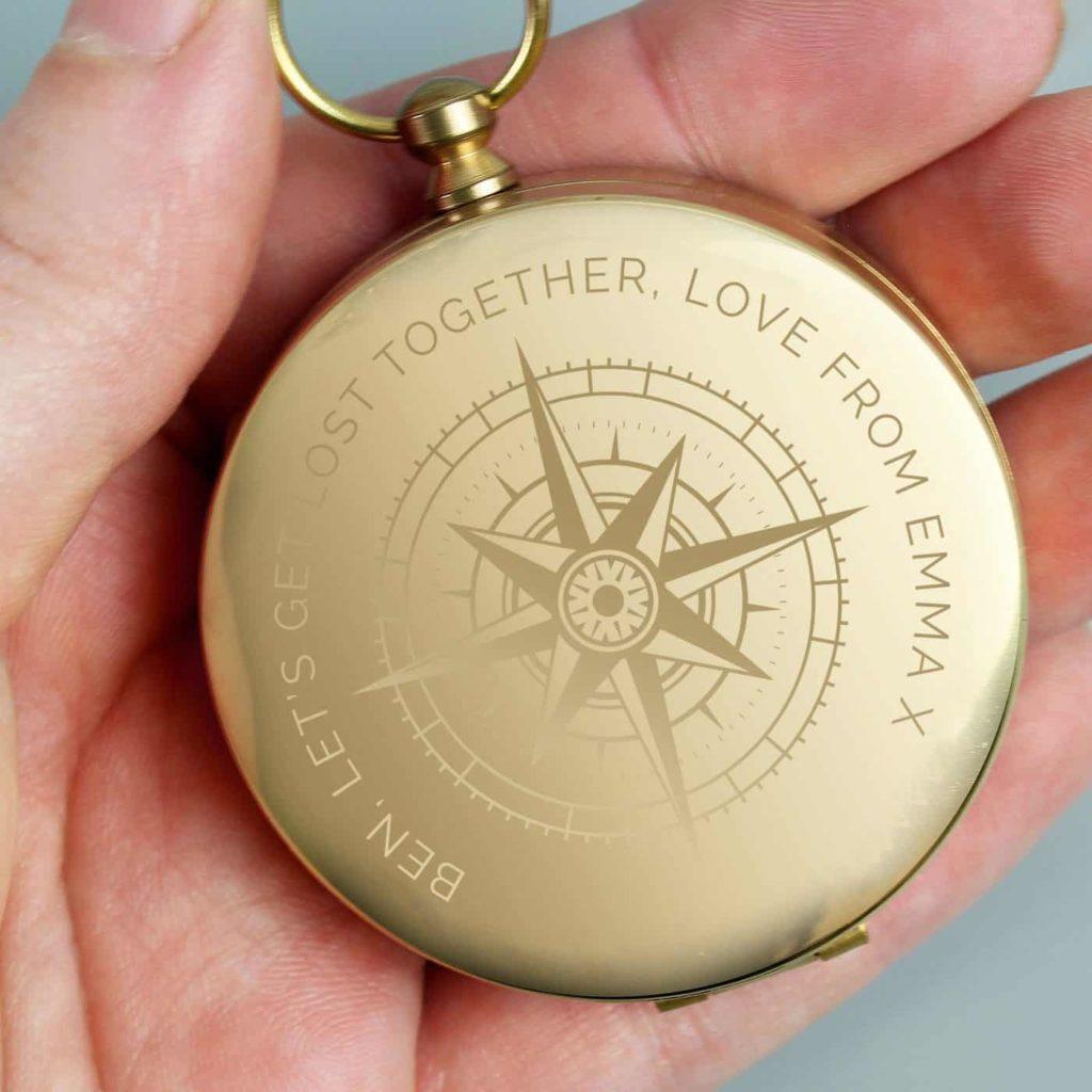 Personalised Keepsake Compass