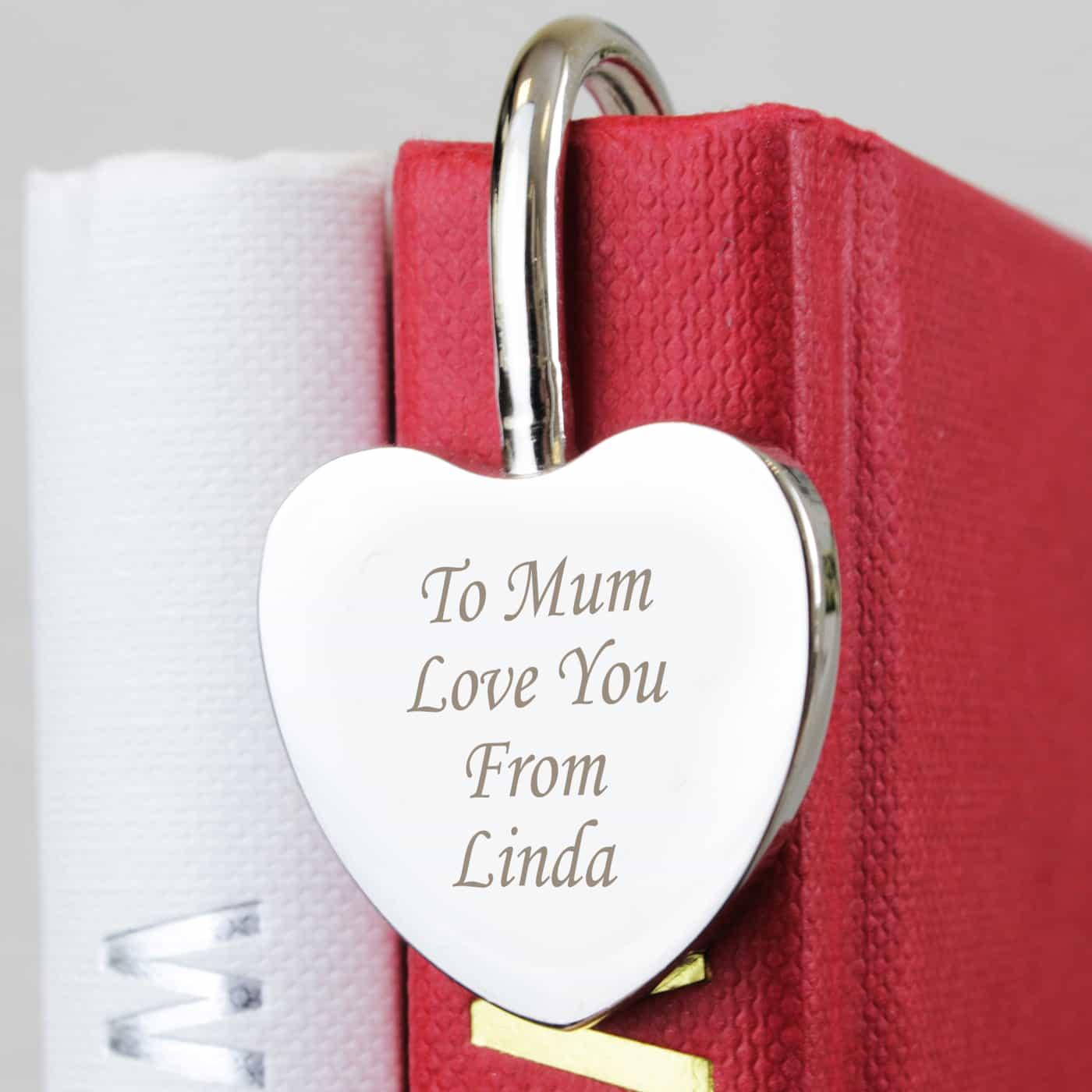 Silver Heart Bookmark