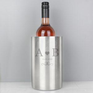 Monogram Stainless Steel Wine Cooler