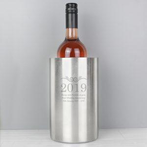 Number Frame Wine Cooler