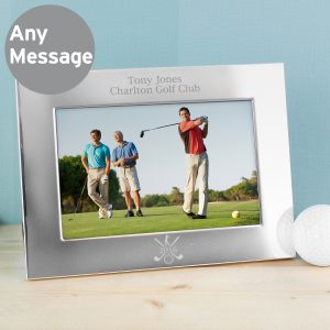 Silver 6x4 Golf Photo Frame