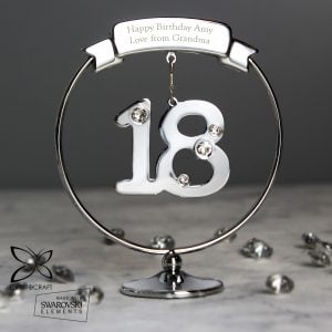Crystocraft 18th Celebration Ornament
