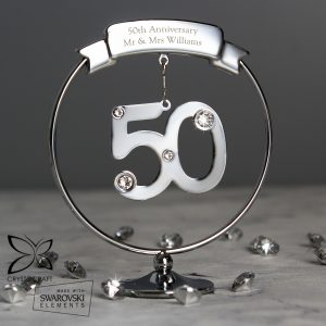 Crystocraft 50th Celebration Ornament