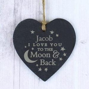 To the Moon and Back... Slate Heart