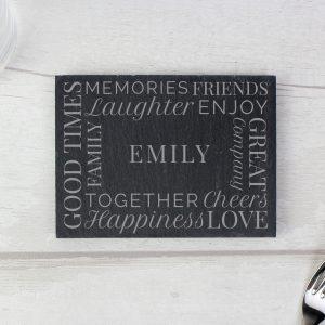 Together' Single Slate Coaster