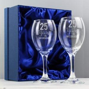 Years As... Wine Glass Set