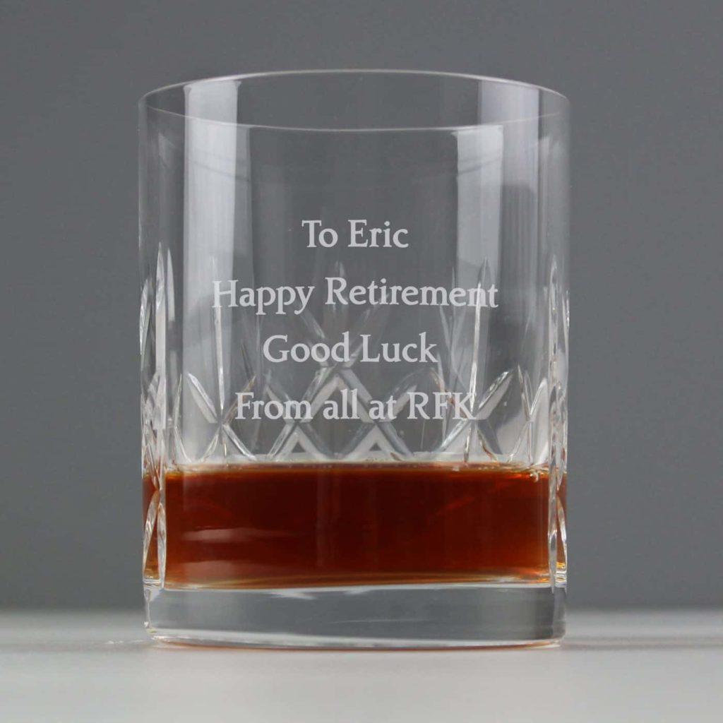 Crystal Whisky Tumbler